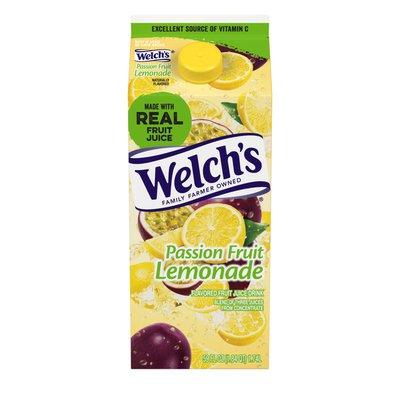 Welch's Passion Fruit Lemonade Flavored Fruit Juice Cocktail Blend