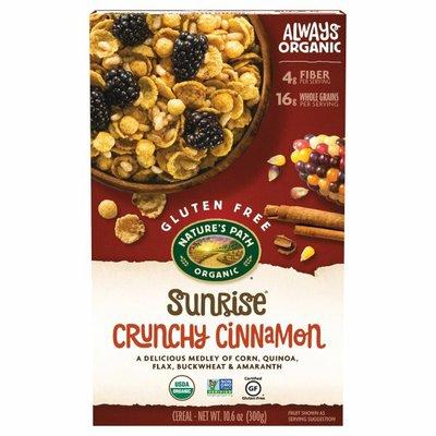 Nature's Path Sunrise Crunchy Cinnamon Cereal
