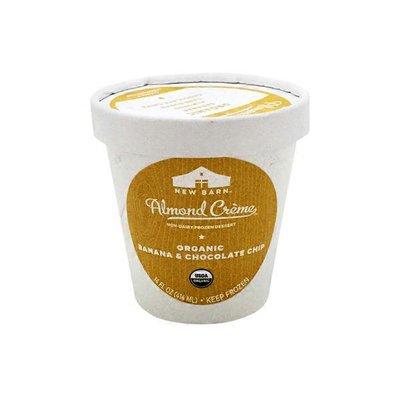 New Barn Frozen Dessert, Non-Dairy, Organic, Banana & Chocolate Chip