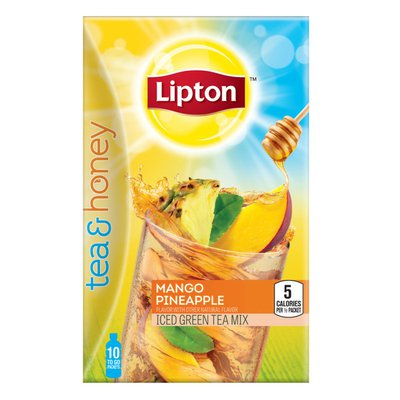 Lipton Iced Tea To Go Packets Mango Pineapple