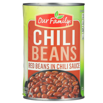 Our Family Chili Beans Red Beans In Chili Sauce