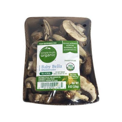 Simple Truth Organic Baby Bella Mushrooms