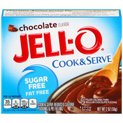 Jell-O Chocolate Sugar Free & Fat Free Pudding & Pie Filling