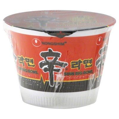 Nongshim Noodle Soup, Shin Big Bowl, Gourmet Spicy