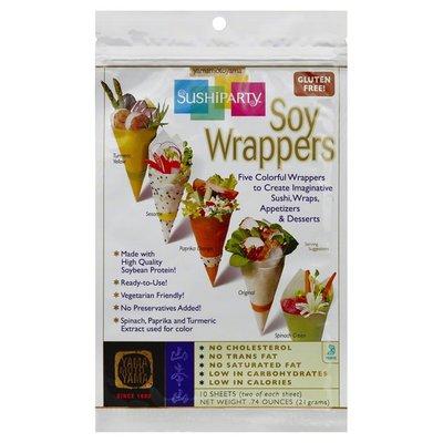 Yama Moto Yama Soy Wrappers, Sushi Party, Bag