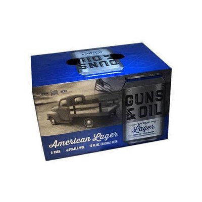 Guns & Oil American Lager Beer