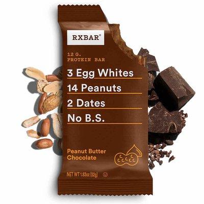 RXBAR Protein Bar, 12g Protein, Peanut Butter Chocolate