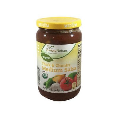 Simply Nature Organic Salsa Medium