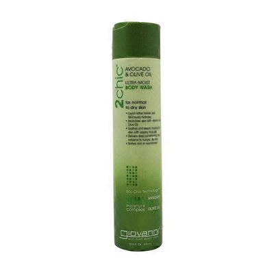 Giovanni 2chic Ultra-moist Body Wash For Normal To Dry Skin, Avocado & Olive Oil