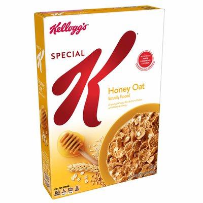 Kellogg's Special K Breakfast Cereal, Honey Oat