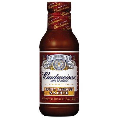 Budweiser Sauces Honey Barbecue Sauce