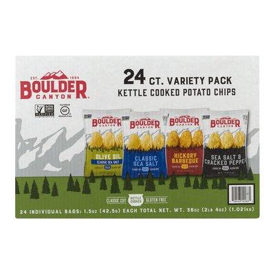 Boulder Canyon Potato Chips Variety Pack