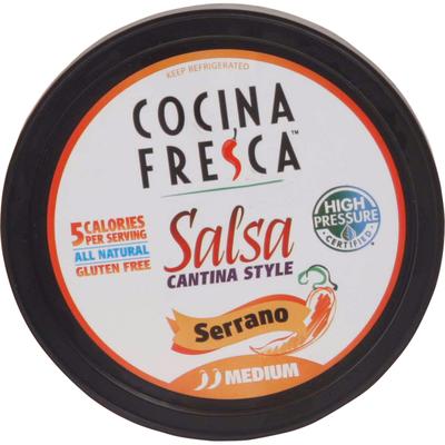 Taste of Inspirations Salsa, Serrano, Cantina Style, Medium