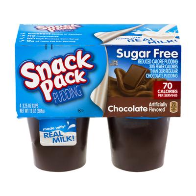 Snack Pack Pudding Sugar Free Chocolate