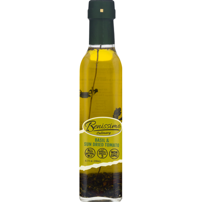 Benissimo Oil, Basil & Sun Dried Tomato