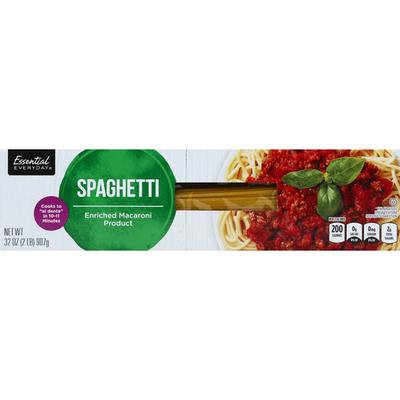 Essential Everyday Spaghetti