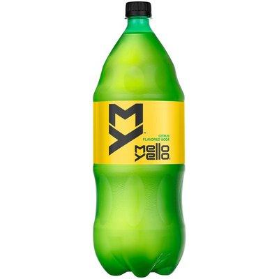 Mello Yello Citrus Flavored Soda Soft Drink