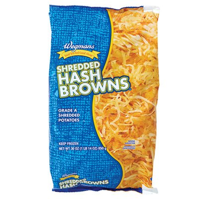 Wegmans Hash Browns Grade A Shredded Potatoes