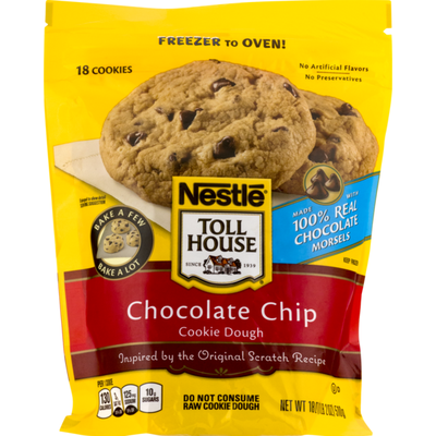 Toll House Chocolate Chips Cookie Dough - 18 CT