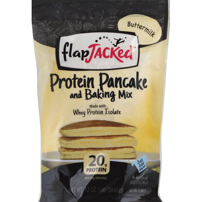 FlapJacked Pancake and Baking Mix, Protein, Buttermilk