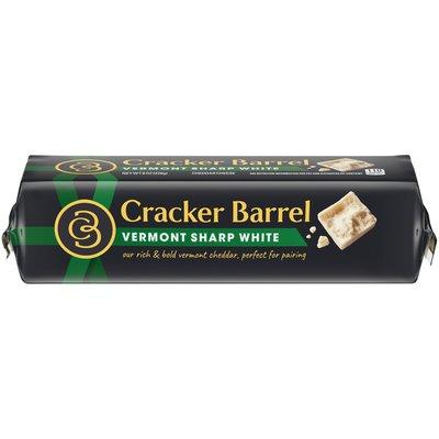 Cracker Barrel Vermont Sharp White Cheddar Cheese