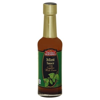 Crosse & Blackwell Mint Sauce, with Egyptian Mint Leaves