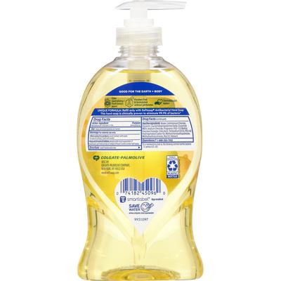 Softsoap Hand Soap, Zesty Lemon, Antibacterial, Kitchen Fresh Hands