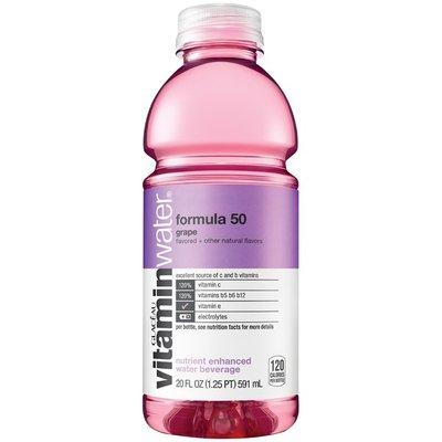 Glaceau Vitaminwater Formula 50 Bottle
