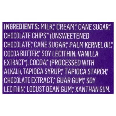 Alden's Organic Ice Cream, Chocolate Chocolate Chip