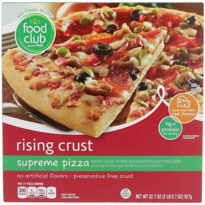 Food Club Rising Crust Pizza
