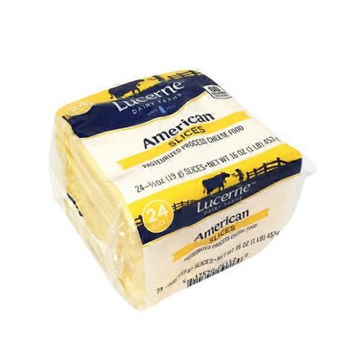 Lucerne American Pasteurized Prepared Cheese Product Slices