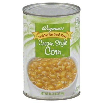 Wegmans Cream Style Corn