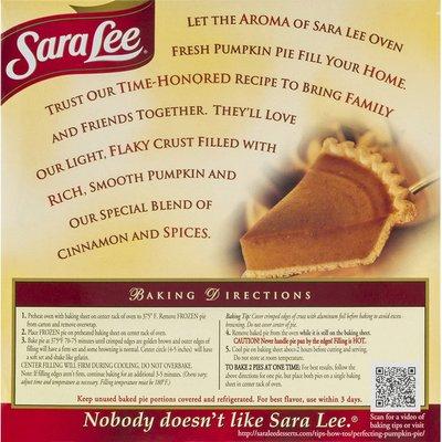 Sara Lee Pie, Pumpkin