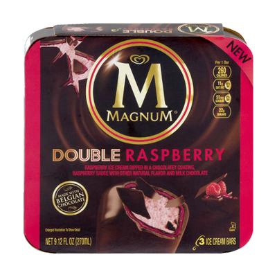 Magnum Ice Cream Bars Double Raspberry