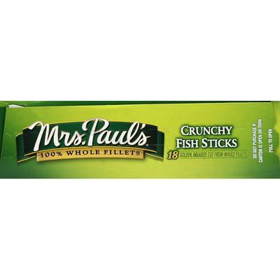 Mrs. Paul's Fish Sticks, Crunchy