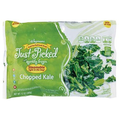 Wegmans Microwaveable Chopped Kale