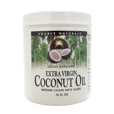 Source Naturals EXTRA VIRGIN COCONUT OIL MEDIUM CHAIN FATTY ACIDS DIETARY SUPPLEMENT Liquid