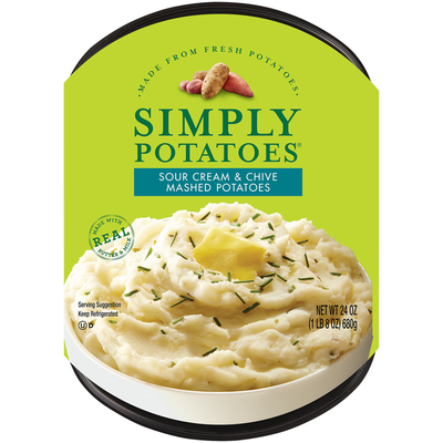 Simply Potatoes Sour Cream & Chive Mashed Potatoes