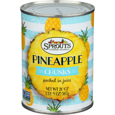 Sprouts Pineapple Chunks