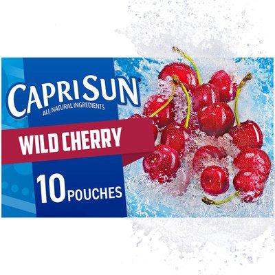 Capri Sun Wild Cherry Naturally Flavored Juice Drink Blend
