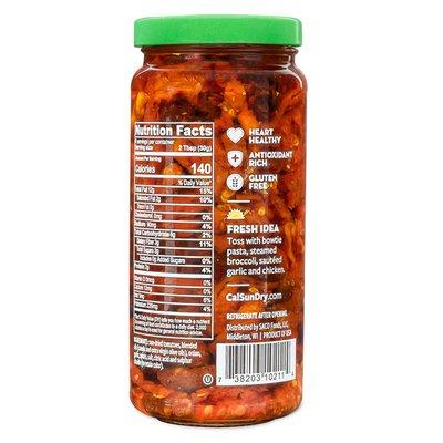 California Sun Dry Sun-Dried Julienne Cut Tomatoes in Oil