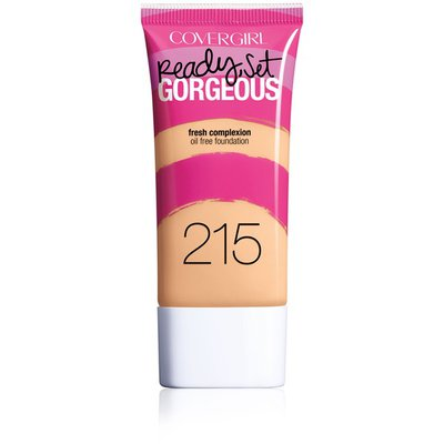 CoverGirl Ready Set Gorgeous COVERGIRL Ready, Set Gorgeous Foundation, Warm Beige  1 fl oz (30 ml) Female Cosmetics