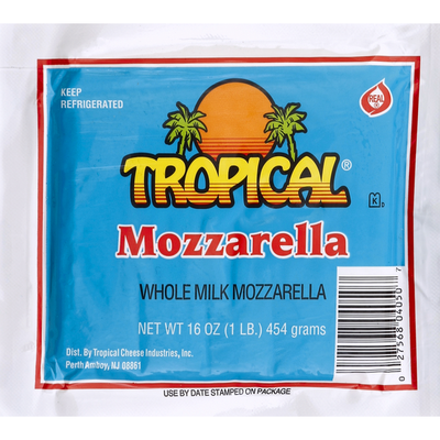 Tropical Mozzarella Whole Milk
