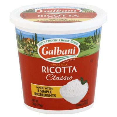 Galbani Galbani Whole Milk Ricotta Classic Cheese