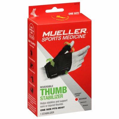 Mueller Thumb Stabilizer, Reversible, Maximum
