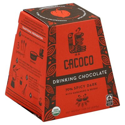 Cacoco Organic Drinking Chocolate Fire Walker