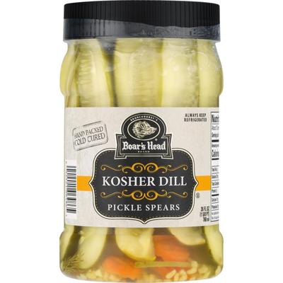 Boar's Head Pickle Spears Kosher Dill