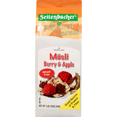 Seitenbacher Cereal, Berry & Apple