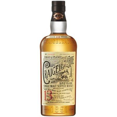 Craigellachie Speyside 13 Year Aged Single Malt Scotch Whiskey - Bottle