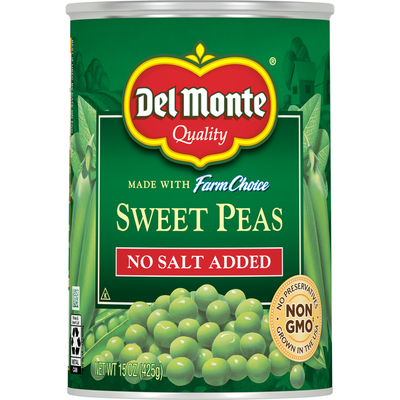 Del Monte Sweet Peas, No Salt Added